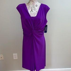 New Purple Chaps Dress XL